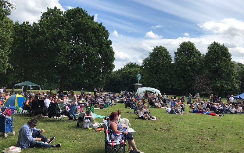 Verdin Park Music Festival Northwich Town Council